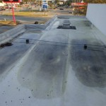 Failing roof covering